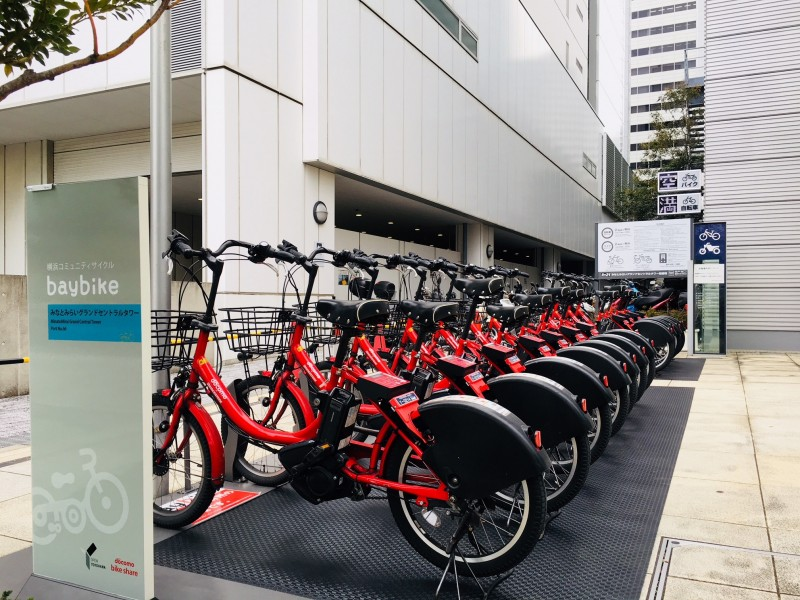 横浜コミュニティサイクル baybikeポート設置のお知らせ