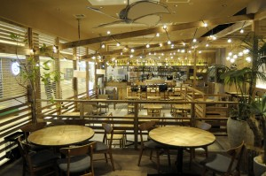Mano Kitchen Café 内観