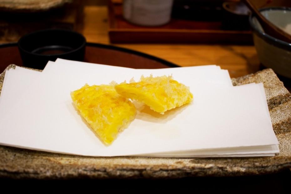 とうもろこしの天ぷら