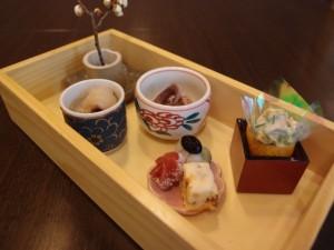 天ぷら ふく西 禅と匠 料理4