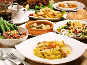 Mano Kitchen Café 食事