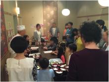 みんなでおいしいお寿司を握ろう!